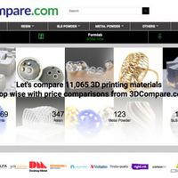 Több mint 11 ezer nyomtatóanyagot hasonlít össze egy 3DP platform