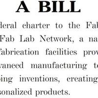 Amerikai törvény támogatja a FabLab Hálózatot