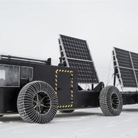 Napelemes nyomtatott jármű indul a Déli-sarkra