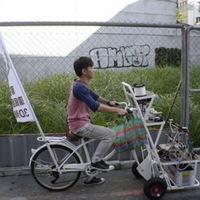 Bicikliből printer