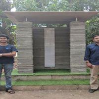 Házakat nyomtatnak Indiában