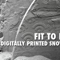 Nyomtatott snowboard