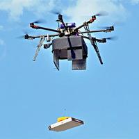 Nyomtatott drón szállít gyógyszereket egy virginiai rendezvényre