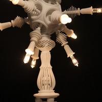 Antik lámpa 3D nyomtatással