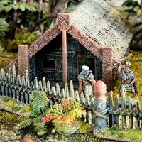 Maori falut nyomtatnak háborús játékokhoz