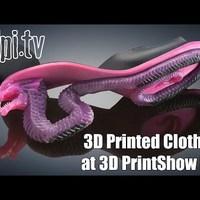 Ruhaköltemények a New Yorki 3D Printshow-n