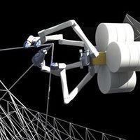 Pókrobotok nyomtathatnak műholdakat az űrben