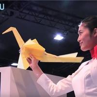Origámidaruként repül a nyomtatott drón