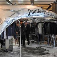 Nyomtatott Louis Vuitton pop-up shop nyílt Ausztráliában