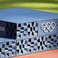 Nyomtatott pódium az olimpián