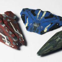 Nyomtatott játékűrhajók