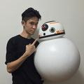 Kinyomtatták BB-8-at az új Csillagok háborúja sztárdroidját