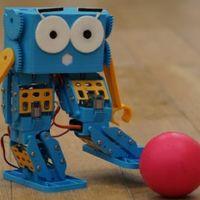 """Marty, a """"mindentudó"""" nyomtatott robot"""