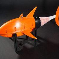 Tonhalról mintáztak egy gyorsasági rekordot döntő vízalatti drónt