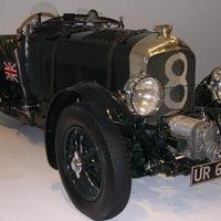 Nyomtatott 1931-es Bentley