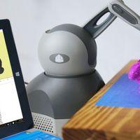 Robotkarral kombinált nyomtatótoll