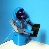 Mozgáskorlátozott személyeknek segít Zizzy, a nyomtatott robot