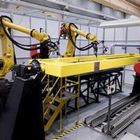 Hibrid rendszer épületszerkezetek gyártásához