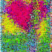 3D nyomtatással frissített pixelművészet