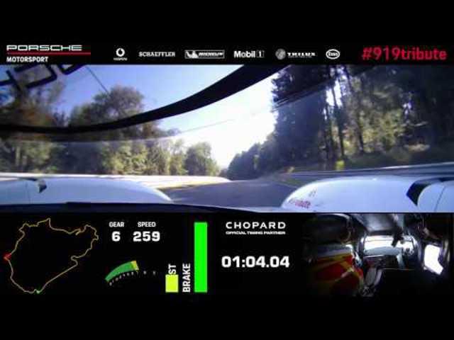 Nürburgring idei Ásza / Porsche 919 Hybrid Evo