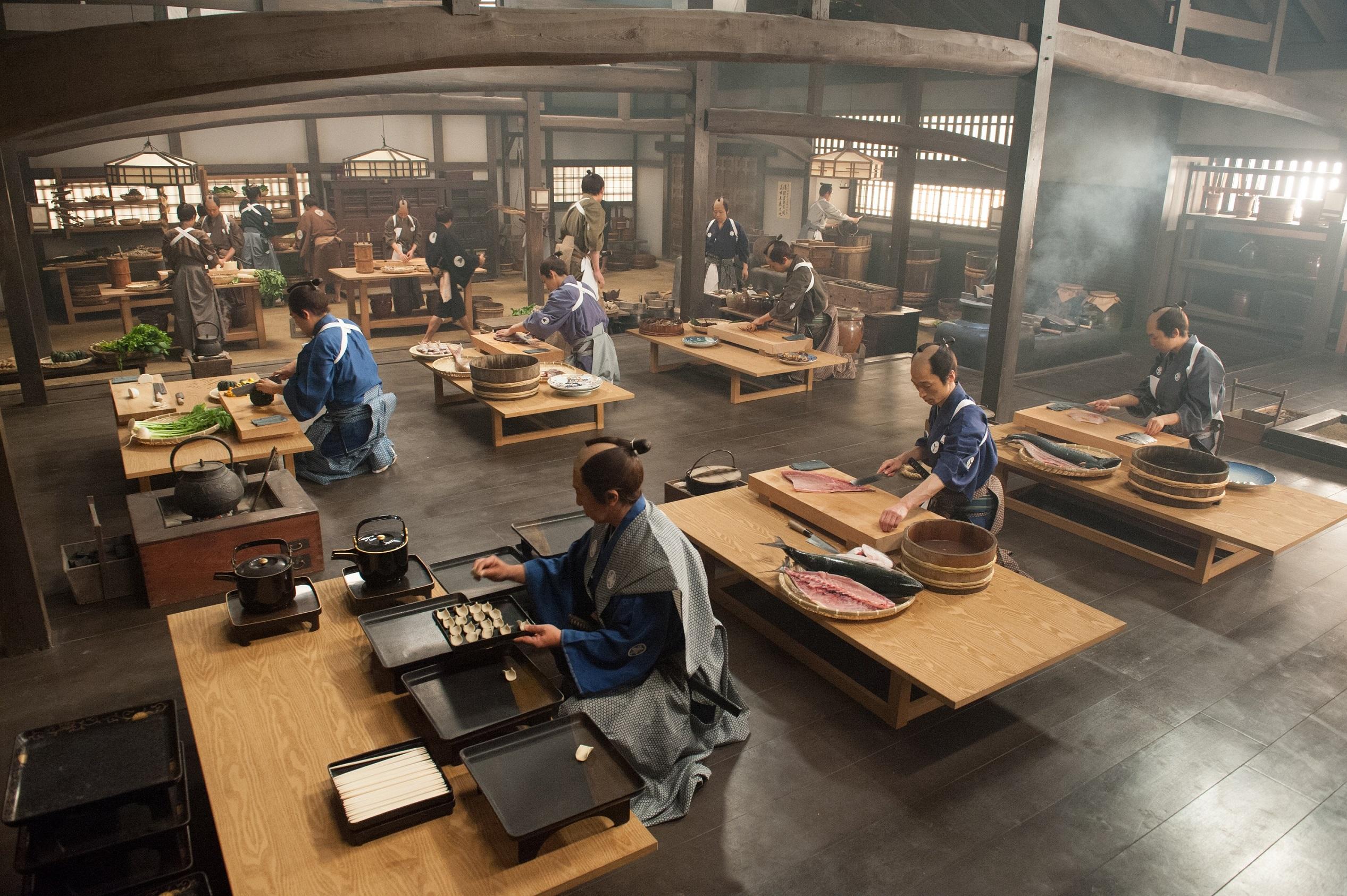 "©2013 ""A Tale of Samurai Cooking"" Film Partners"
