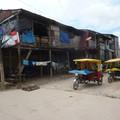 Iquitos, egy igazi határváros, Peruban.