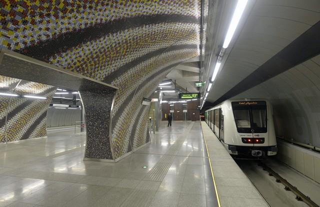 Budapest, 4-es metró