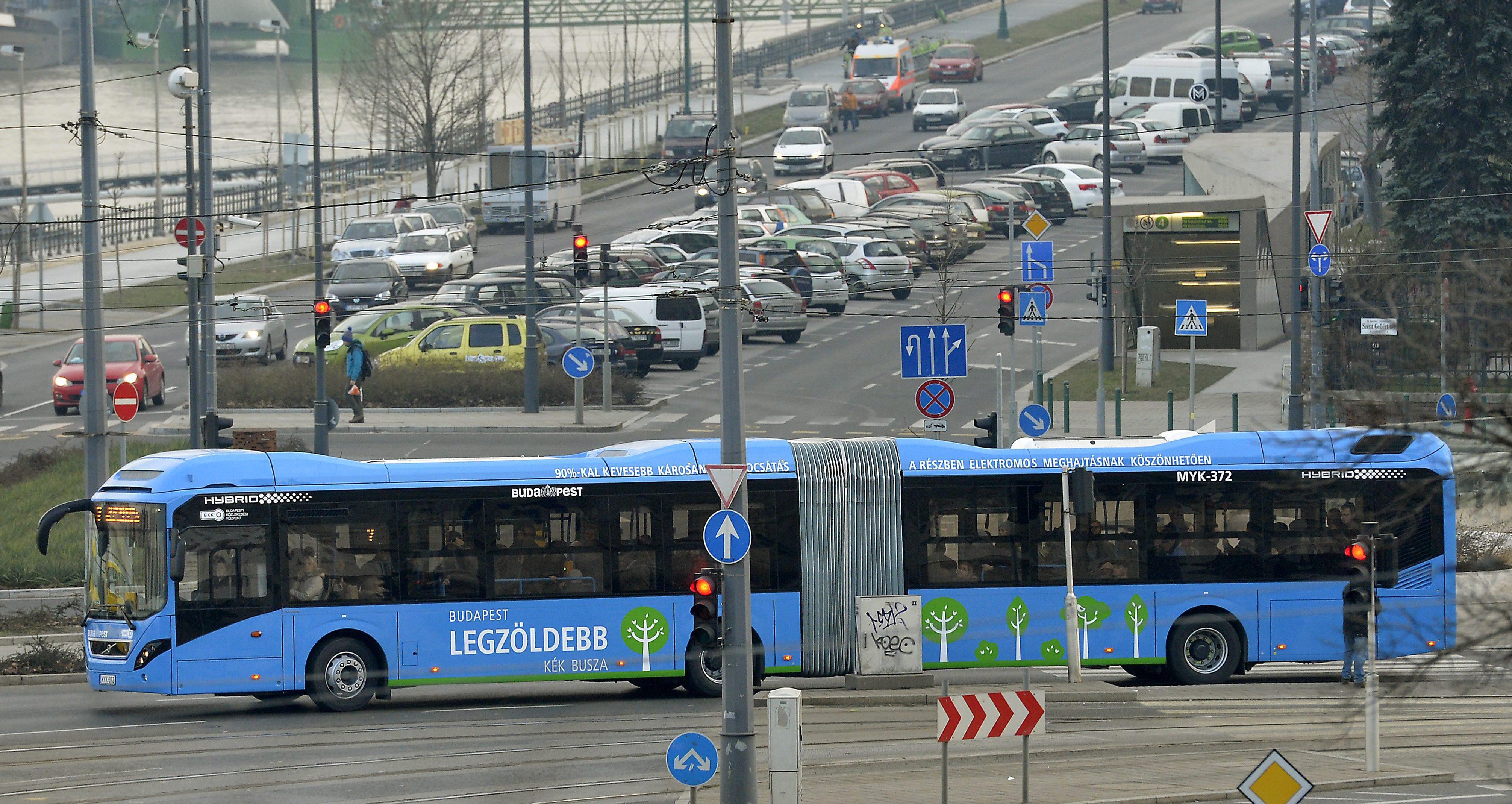 5-ös busz, Volvó