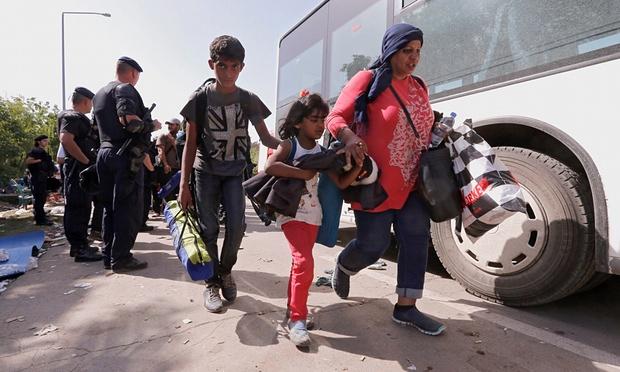 Menekültek Horvátországban