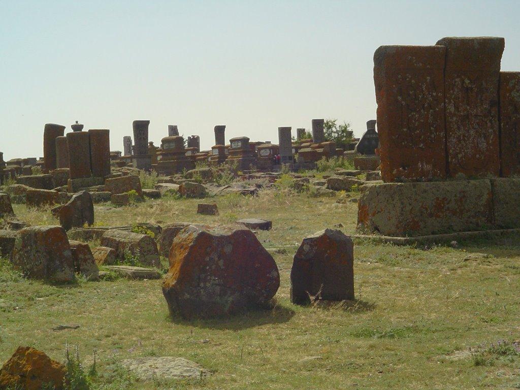 Temető Nuraduz közelében Örmény országban