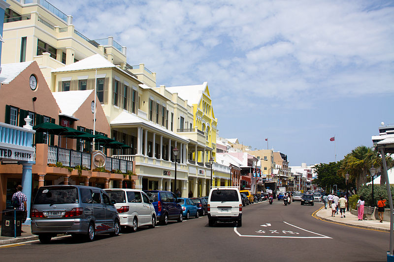 Front St Hailton, Bermuda