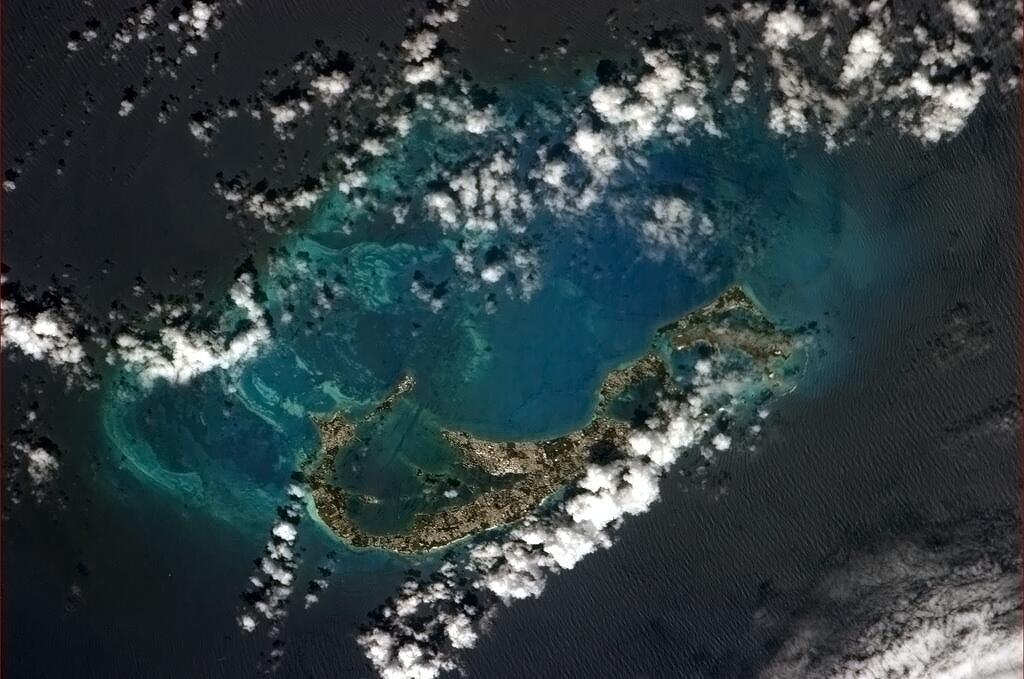 Bermuda az űrből