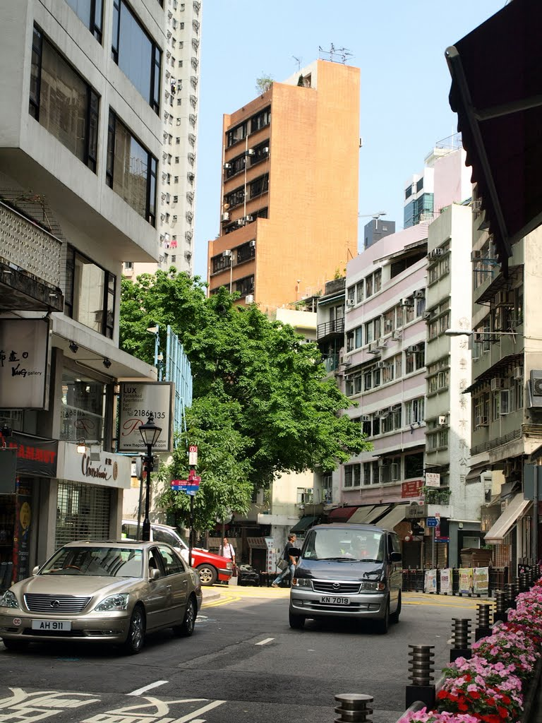 Hong Kong, Hollywood road
