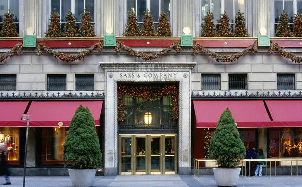 Saks, Fifth Avenue, New York