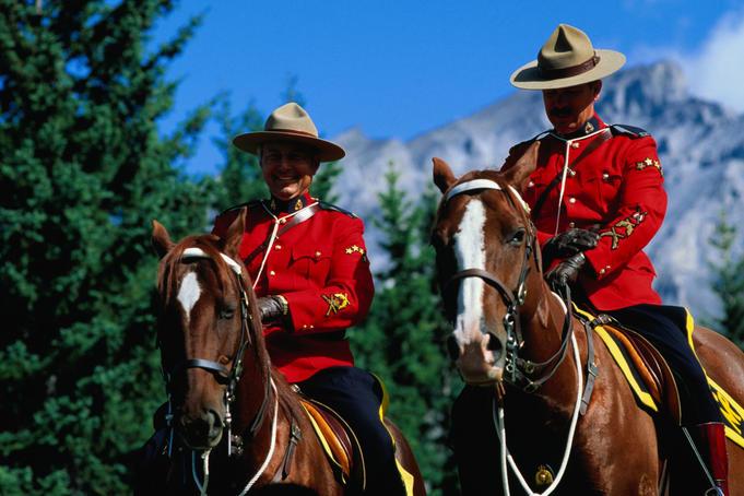 A híres kanadai lovasrendőség