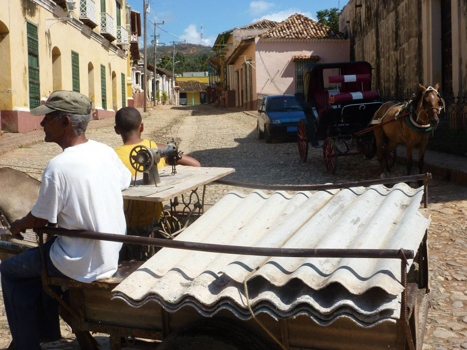 Utcakép, Trinidad, Kuba