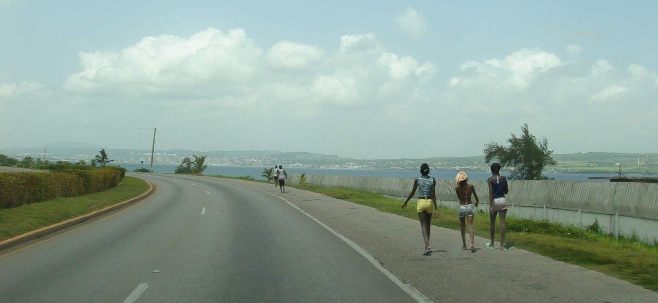 Országút Varaderó közelében