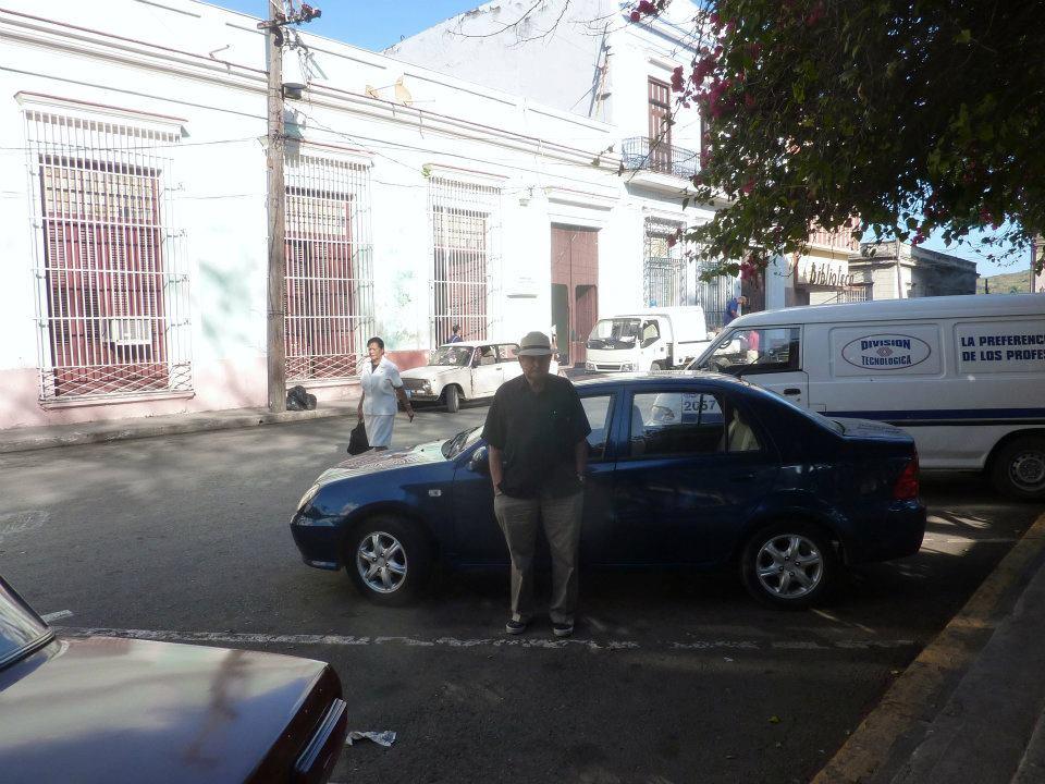 Bérelt kocsi, én, Matanzas, Kuba