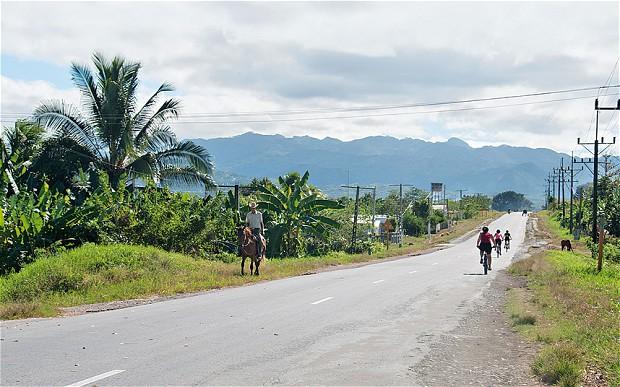 Kuba országút