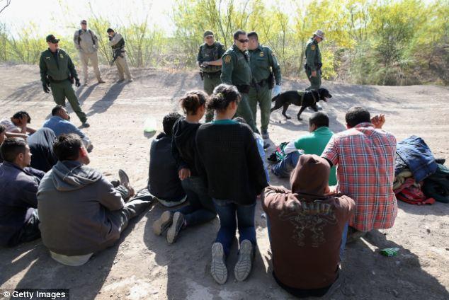 Valahol Mexico és az US határán