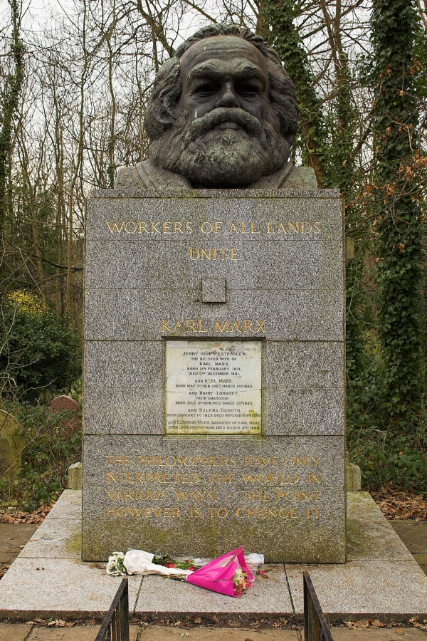 Carl Marx, High Gate Cemetery, London