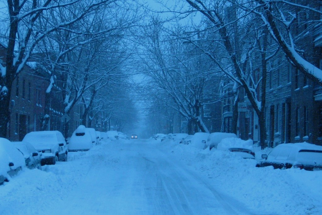 Téli kép, Montreal