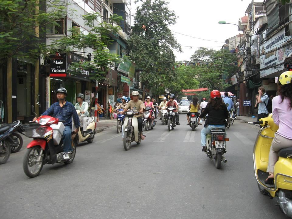 Hanoi, utcakép