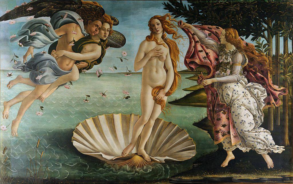 Boticelli, Vénusz, Uffizi
