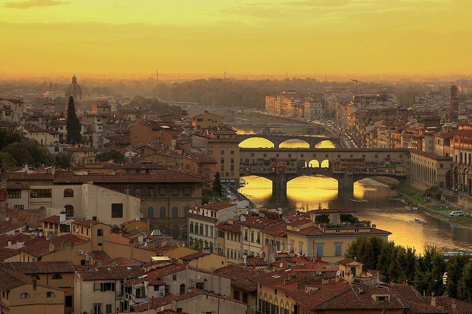 Ponte Vecchio, az Öreg Híd, Firenze
