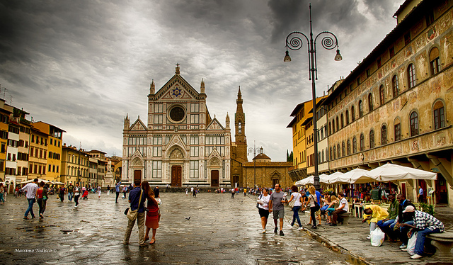 Santa Croce, ferences templom, Firenze