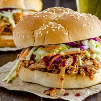 Egy igazán férfias szendvics: pulled pork!