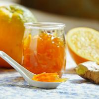 Gyömbéres-fűszeres házi narancslekvár