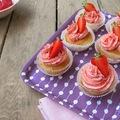 Epres vajkrémes cupcake