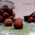Almás pite golyó